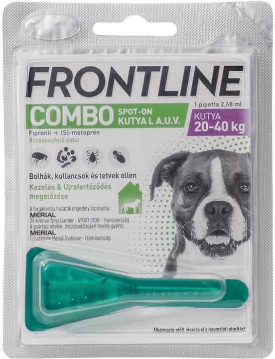 Frontline Combo Spot-on Dog L 20-40 kg 1x2,68ml