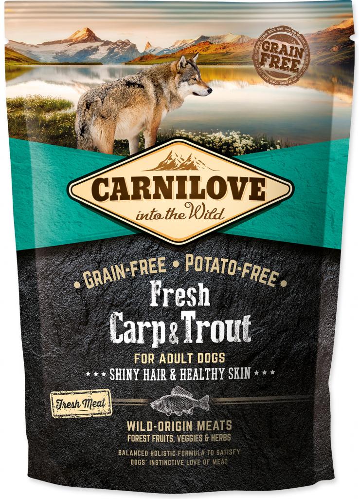 Carnilove dog Fresh Adult Carp & trout 1,5 kg