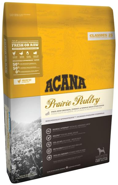 ACANA Classics Prairie Poultry NEW 6 kg