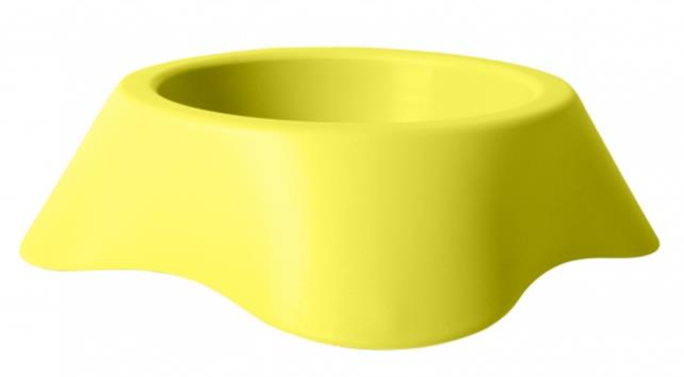 Miska DUVO+ Nuvola plastová 1000 ml 25 x 7,5 cm - Žltá