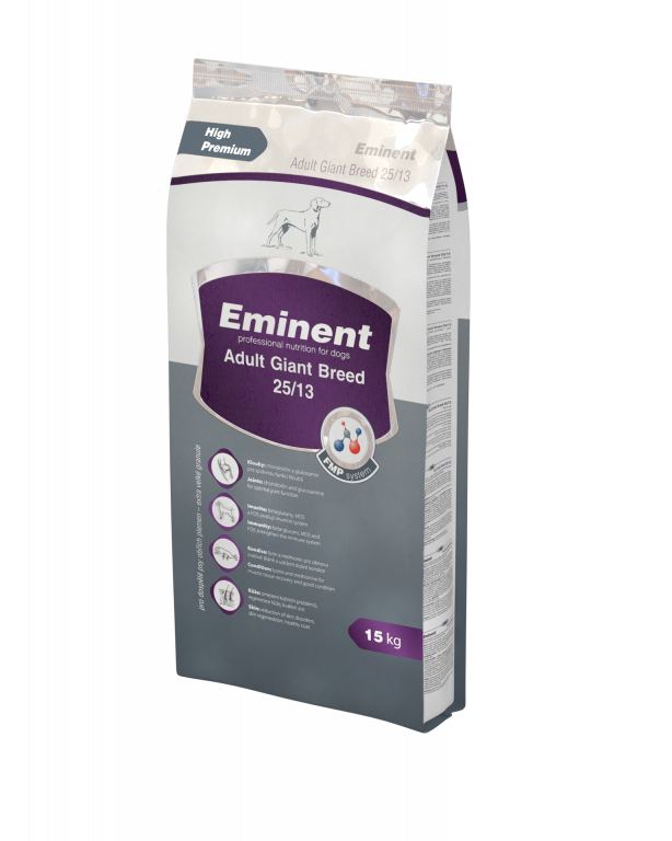 Eminent Dog Adult Large Breed Giant XXL 15+2 kg Gratis
