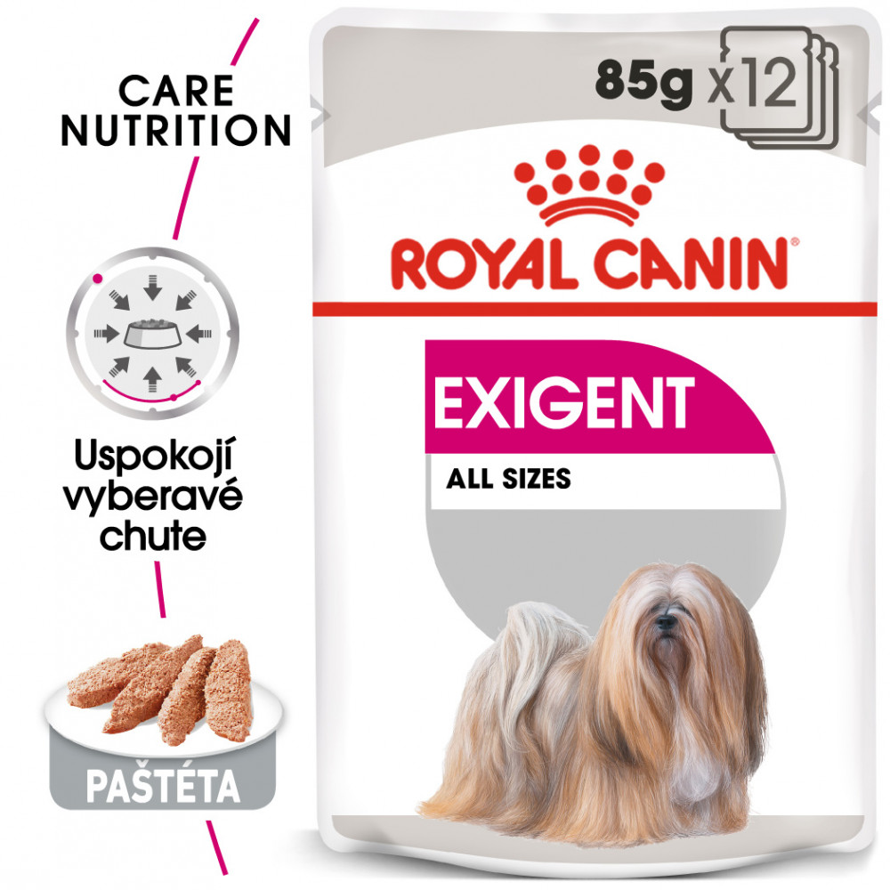 Royal Canin Exigent Dog Loaf 12x85g