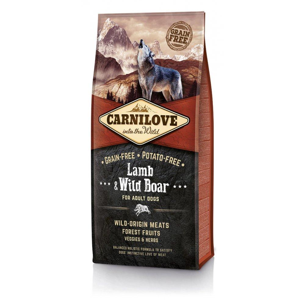 Carnilove Lamb & Wild Boar for Adult Cats – Sterilised 6kg