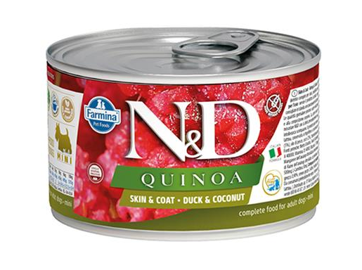 Farmina N&D dog QUINOA Duck & Coconut konzerva 140 g