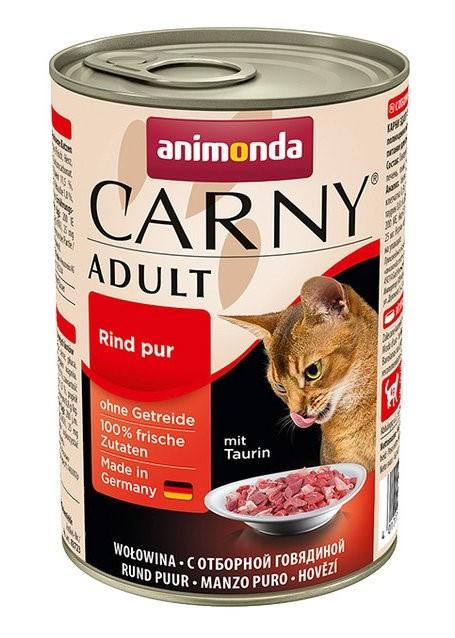 Animonda CARNY® cat Adult hovädzie 400 g konzerva