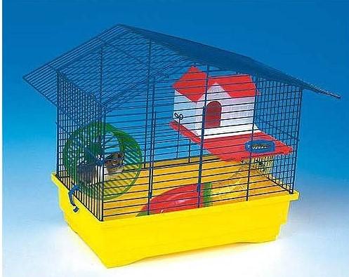 COBBYS PET CRICETO HOUSE klietka hlodavce 49,5x32,5x38cm