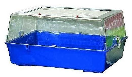 COBBYS PET BUNNY 56x39x28cm plastová klietka pre hlodavce