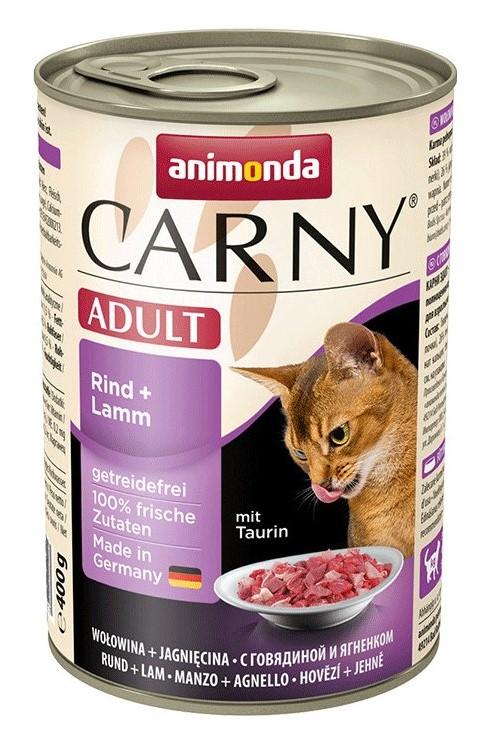 Animonda CARNY® cat Adult hovädzie a jahňa 400 g konzerva