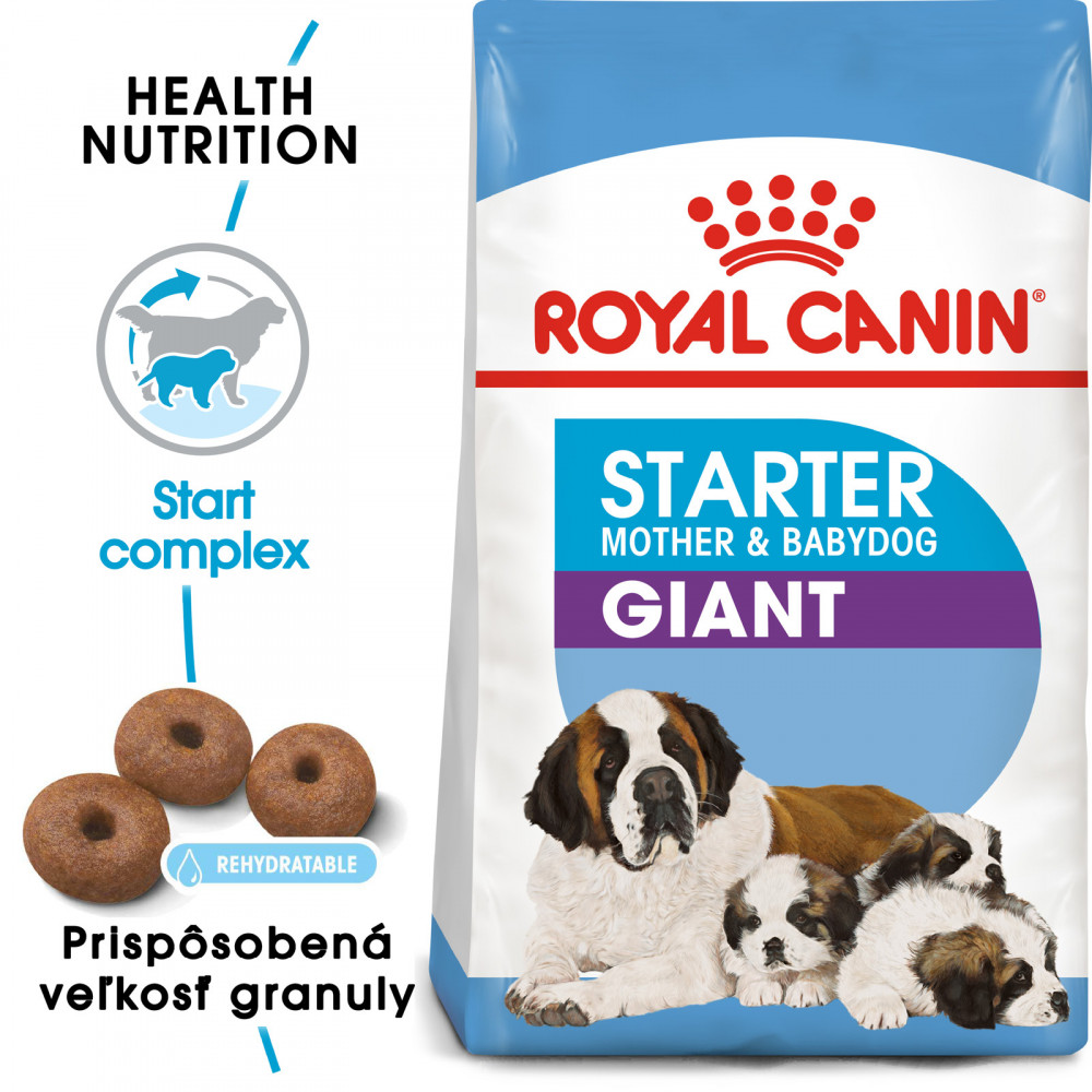 Royal Canin Giant Starter Mother&Babydog 15kg
