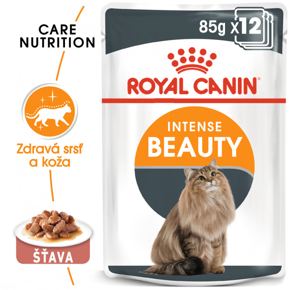 Royal Canin Intense Beauty Gravy 12x85g