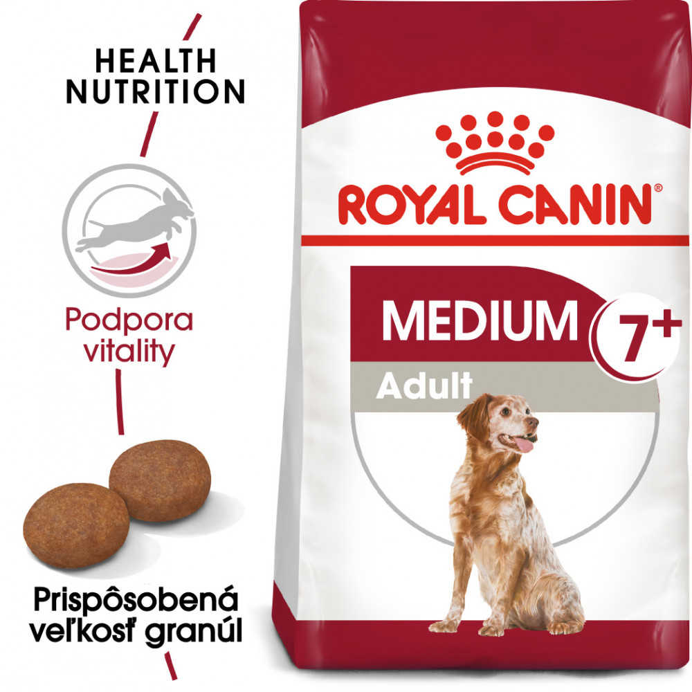 Royal Canin Medium Adult 7+4kg