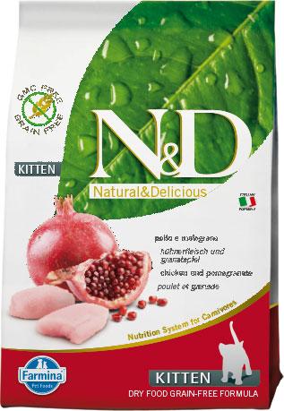 N&D cat Prime (GF) kitten chicken&pomegranate 10 kg