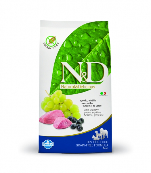 N&D dog GF adult medium lamb&blueberry 12 kg