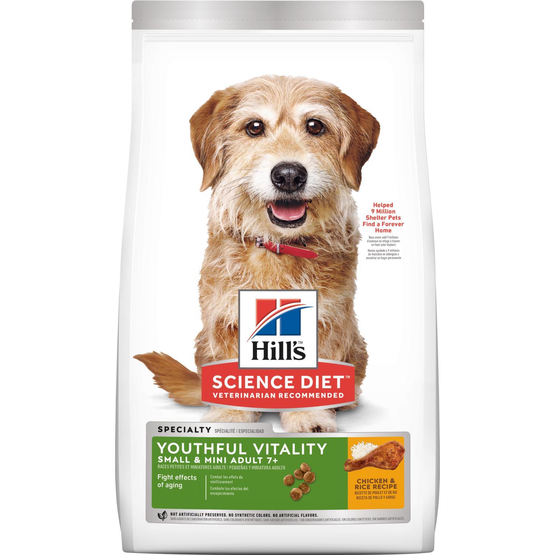 HILLS SP Ca Mature 7+Youthful Vitality Small & Mini Chicken 1,5 kg