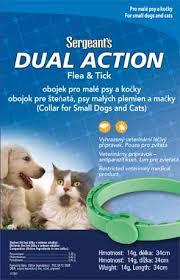 Sergeant´s Antiparazitný obojok pre psy a mačky - 34cm