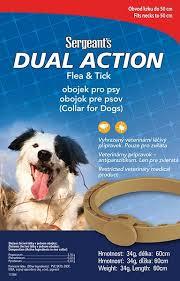 Sergeant´s Antiparazitný obojok pre stredné psy - 60cm