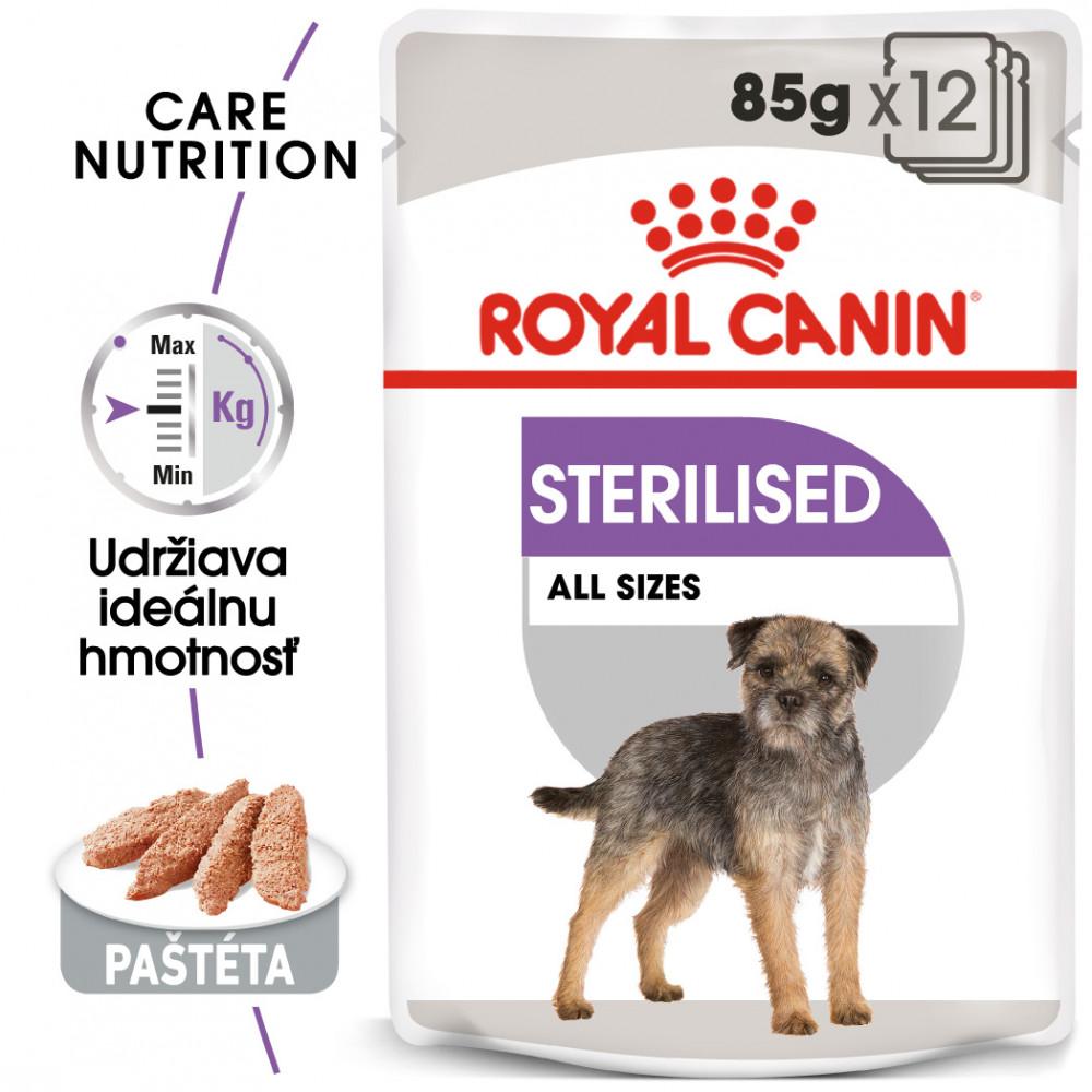 Royal Canin Sterilised Dog Loaf 85gx12