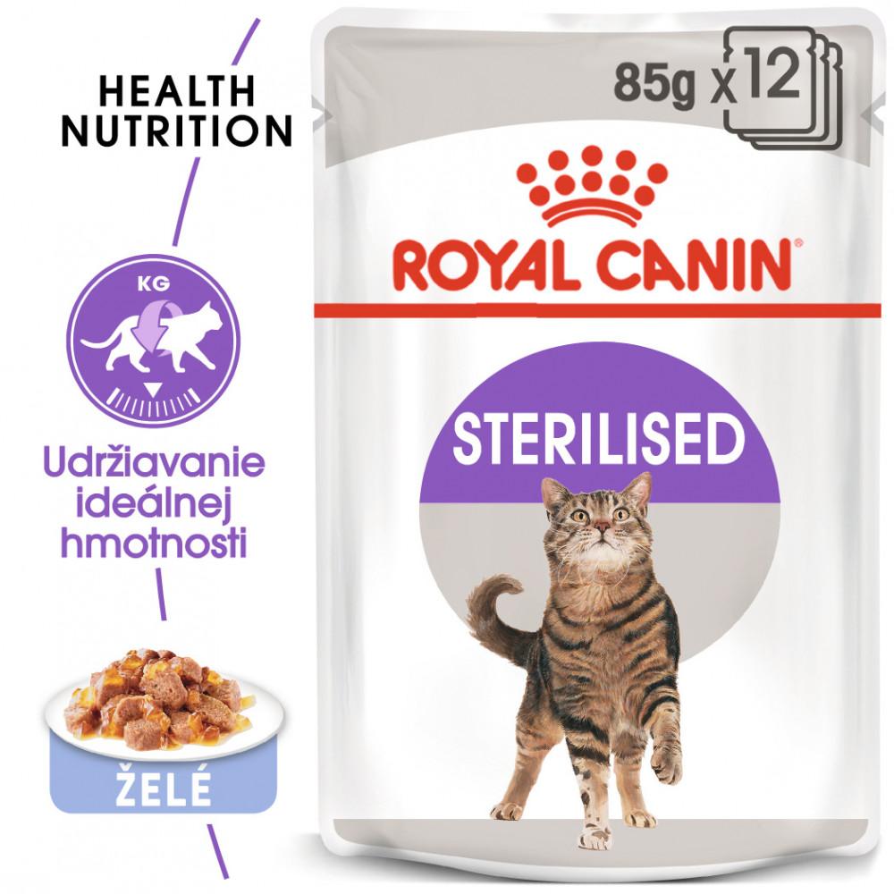Royal Canin Sterilised Jelly 12x85g