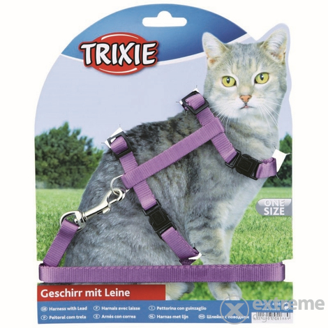 Trixie postroj s vodítkom pre mačky 26-43 cm/1,2m