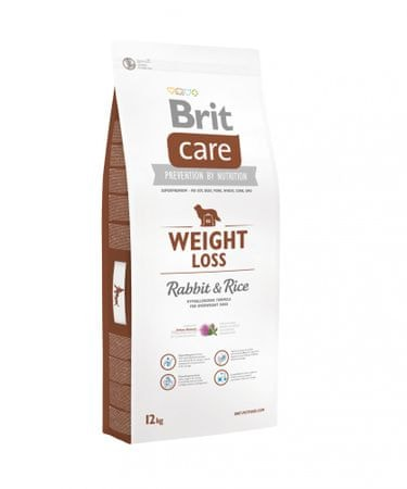 BRIT Care dog Weight Loss Rabbit & Rice 12 kg